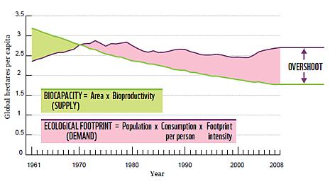 ecological overshoot