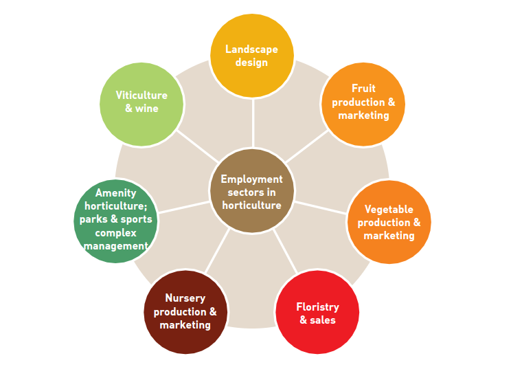 employment sectors in horticulture