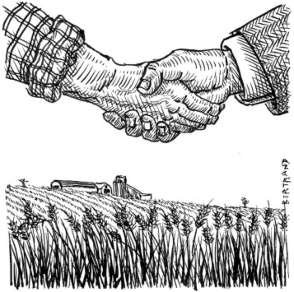 agribusiness handshake